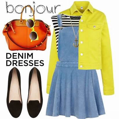 Outfits Denim Loafers Outfit Wear Dresses Favorite