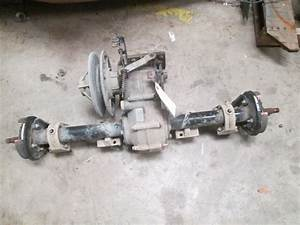 Ezgo 74520g01 Rear Differential  U0026 Axle Assy For Workhorse