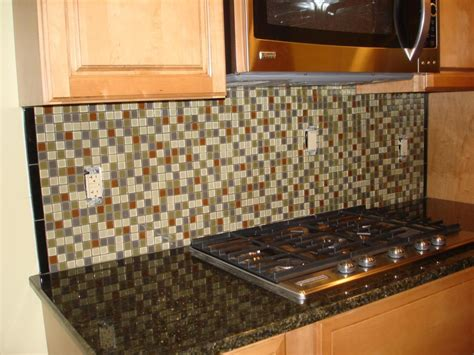 how to install kitchen backsplash around outlets granite