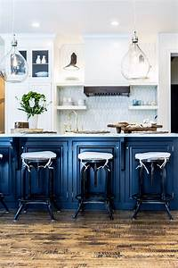 kitchen blues navy kitchen kitchens and navy With kitchen colors with white cabinets with seashell stickers