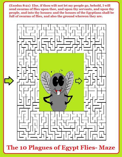 plagues  egypt flies lesson