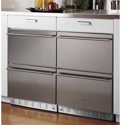 monogram double drawer refrigerator module zidshss ge appliances