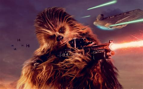 wallpaper chewbacca solo  star wars story chewie
