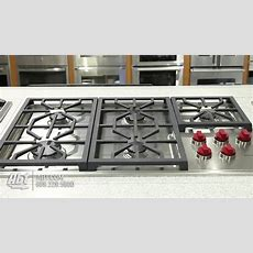 Wolf Professional 36 Inch Gas Cooktop Cg365p Overview Youtube