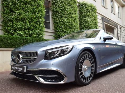 The vehicle bows to welcome you in, lowering its suspension for entry and exit. Mercedes-Benz Maybach S 650 Cabriolet (2018) for Sale ...