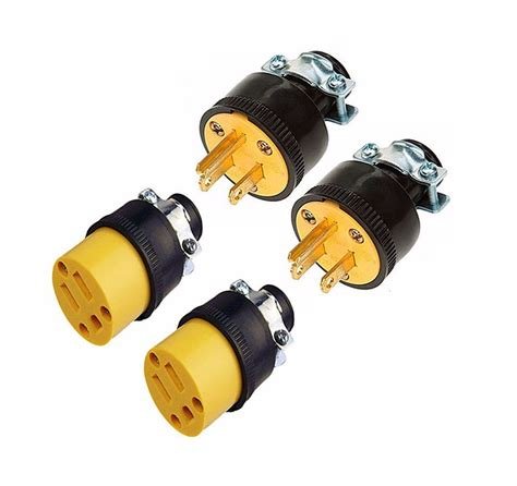Male Female Wire Replacement Electrical Plug Ends