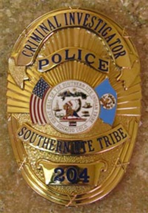 southern ute indian tribe criminal investigations