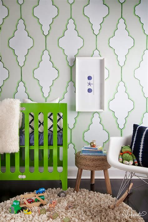 Stenciled Wall Template And Tutorial  The Makerista