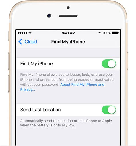 how do i turn my location on my iphone set up find my iphone and mac apple support