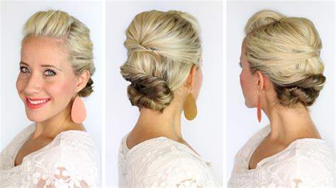 hair soft updo to make hair look longer the