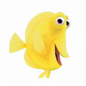 7 Free Disney Pixar Yellow Fish Bubbles From Finding Nemo ...