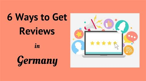 6 Ways To Get Reviews For Your German Books  Indies Go German