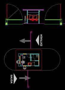 Data Entry Design Patterns Guardhouse Dwg Detail For Autocad Designs Cad