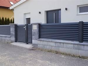 Aluminium Zaun Modern : systeme aus aluminium alutor gartentor und aluzaun ~ Articles-book.com Haus und Dekorationen