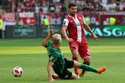 The football team currently plays in regionalliga west which is the fourth tier in german football. Spielfotos: 1. FC Kaiserslautern - Preußen Münster 1:2 (0 ...