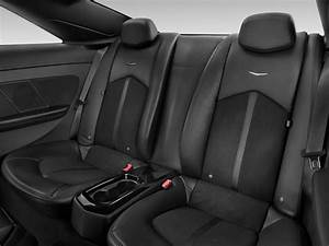 Image: 2012 Cadillac CTS-V Coupe 2-door Coupe Rear Seats