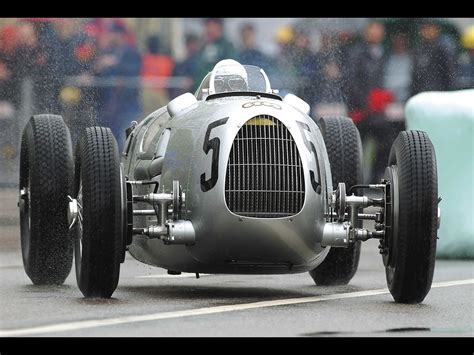 Historic Rally Classic Race Cars Auto Union Type C