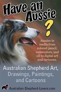 Pencil Sketch Of Lovers Share Your Australian Shepherd Art Drawings Paintings
