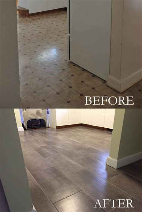 Peel And Stick Tiles by Installing Peel And Stick Vinyl Tile For Realists