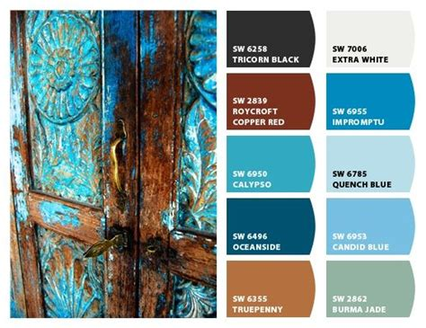 best 25 rust color schemes ideas on