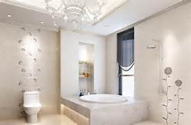 Minimalist Bathroom Interior Pastoral Style Wallpaper Minimalist Bathroom Interior 3D House Free