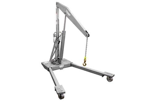 Hydraulic Manual Floor Cranes I Straddle, Counterbalanced
