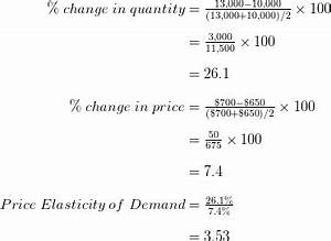 5.1 Price Elasticity of Demand and Price Elasticity of ...