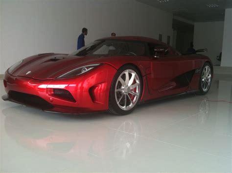 Omani Royal Family Takes Delivery Of New Koenigsegg Agera
