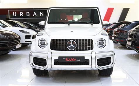 Brabus fine leather injoy blue. Mercedes-benz G63 //amg 2020 for Sale in Dubai, AED 949,000 , White,Sold