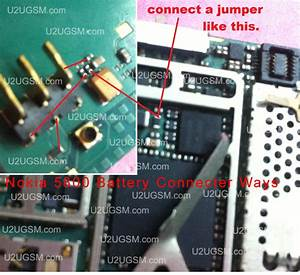 All Gsm Solution  Nokia 5800 Battery Terminal Jumpers Solution