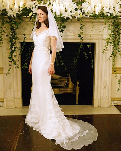 The 8 Most Memorable Tv Wedding Dresses  Her Campus