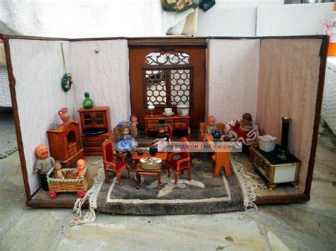 Wohnzimmer Antik Einrichten by Alte Antike Puppenstube Mit M 246 Bel Puppen Einrichtung K 252 Che