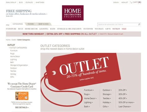 Home Decorators Outlet Coupons & Homedecoratorsoutletcom