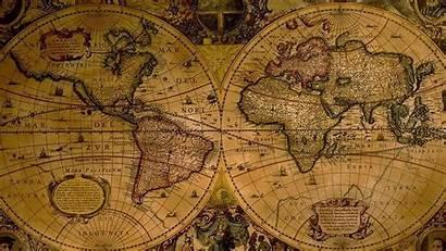 Map Antique Desktop Wallpapers Background Maps 4k