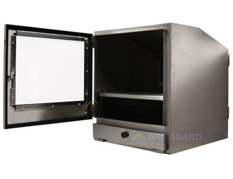armoire pc en acier inoxydable etanche protection