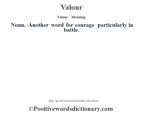 definition of siege valour definition valour meaning positive words dictionary