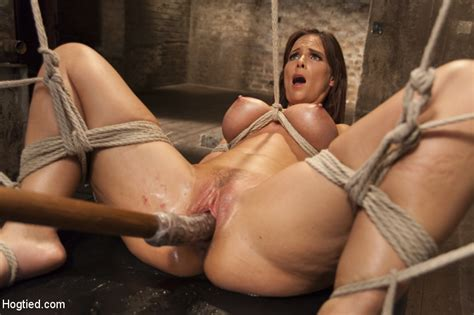 big tit milf gets it just the way she likes it hogtied pics