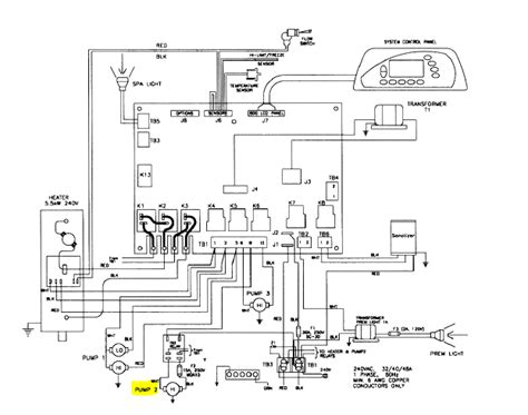 Spa Circuit Board Wiring Diagram by Sundance Circuit Board 850 With Iso 1 30b Sd6600