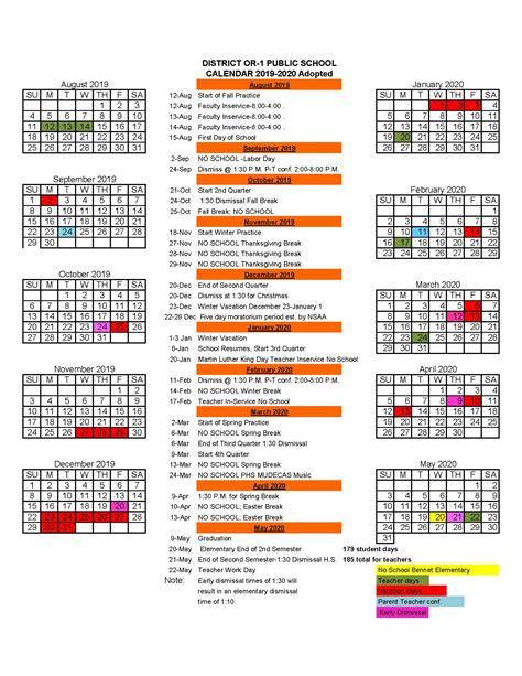 palmyra schools school calendars