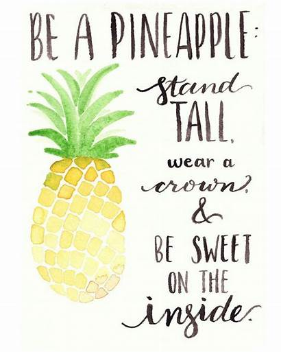 Pineapple Watercolor Quotes Printable Quote