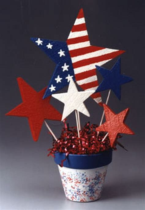 4th of july table centerpieces july 4th diy decorating ideas 4th of july easy table