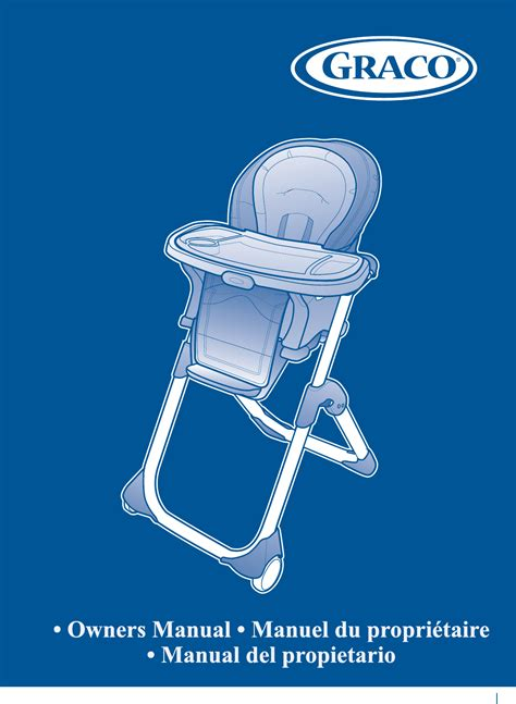 graco duodiner high chair manual graco high chair 1762131 user guide manualsonline