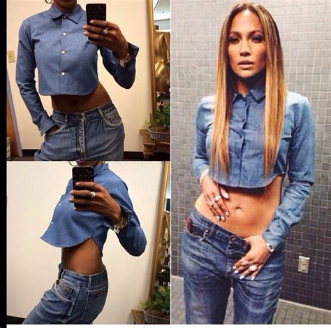 shirt denim jacket denim jennifer lopez crop tops