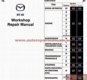 Free Automotive Manuals  Mazda Bt