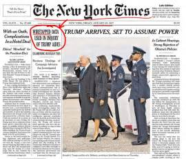 did the new york times contradict their 20 january 2017 report about wiretapping