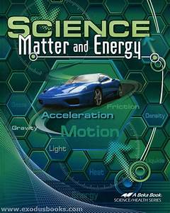 Science  Matter And Energy - Textbook