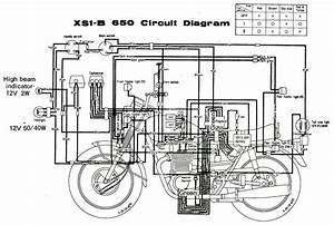 Triumph 650 Wiring Diagram Simplified