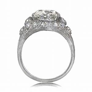 4 carat vintage engagement ring estate diamond jewelry With estate jewelry wedding rings