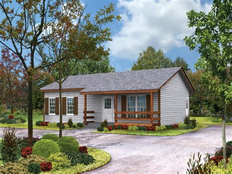 1-story Ranch Style Houses Small Ranch Home Floor Plans