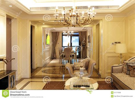 Salotto Sala Da Pranzo by Sala Da Pranzo E Salotto Immagine Stock Immagine Di
